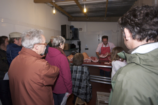 Butchery demonstration